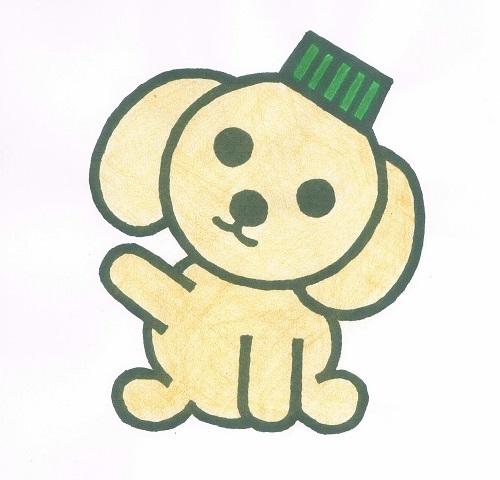 エコキャップ犬キャッピ イラスト1