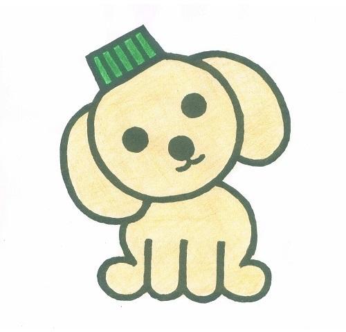 エコキャップ犬キャッピ イラスト2